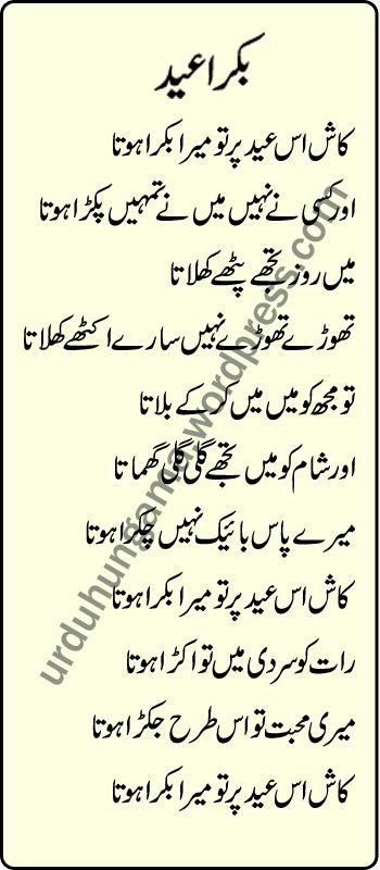 Bakra eid urdu poetryurdu adab bakra eid m4hsunfo